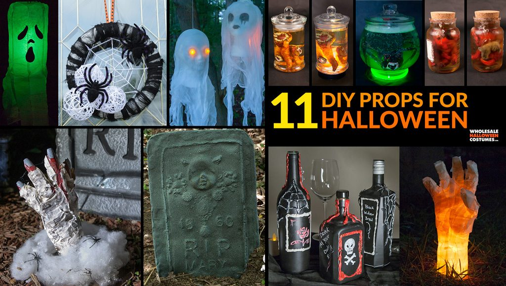 Best DIY Props for Halloween From Our Blog