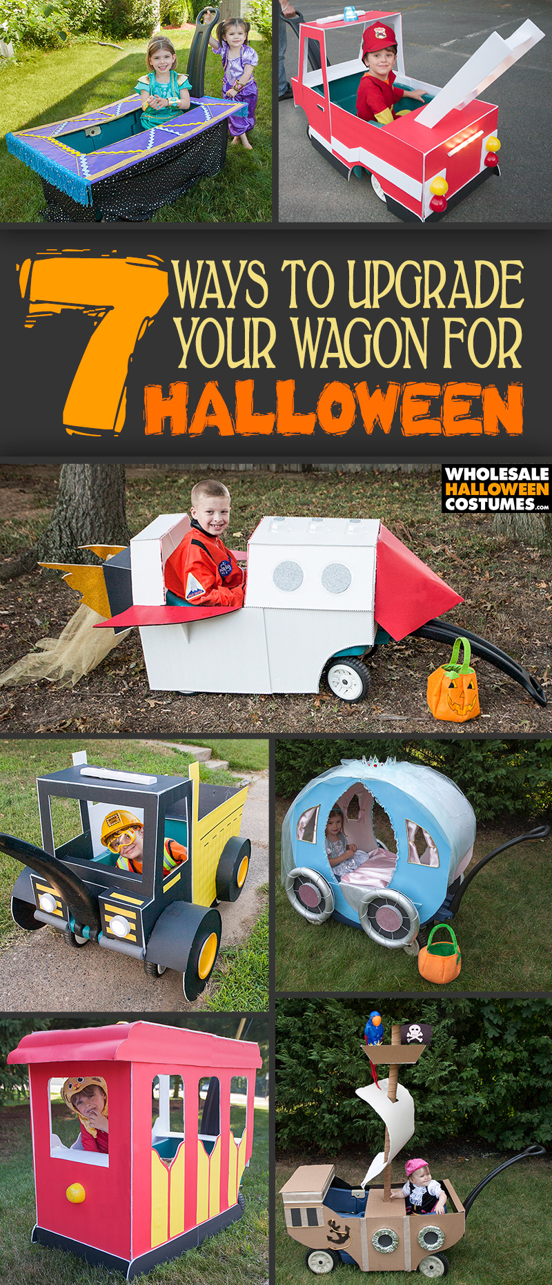 DIY Halloween Wagon Upgrades