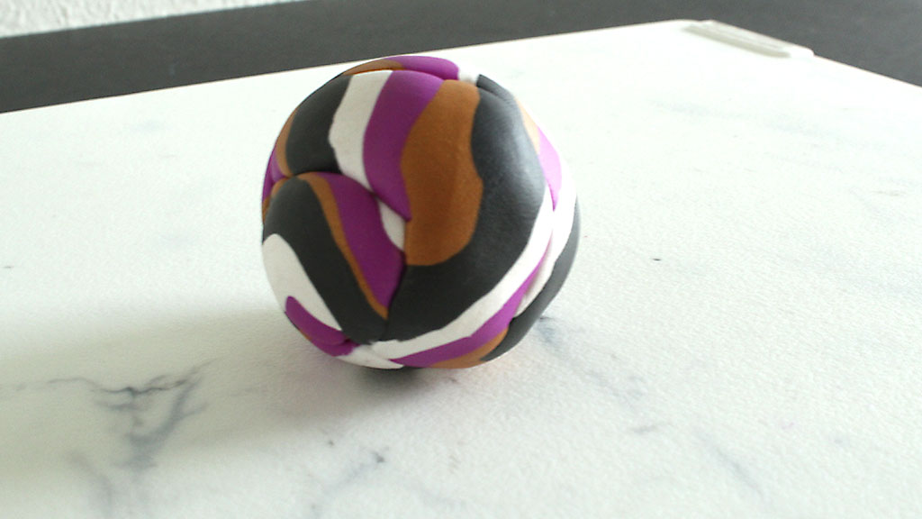 Rolled Polymer Clay Ball