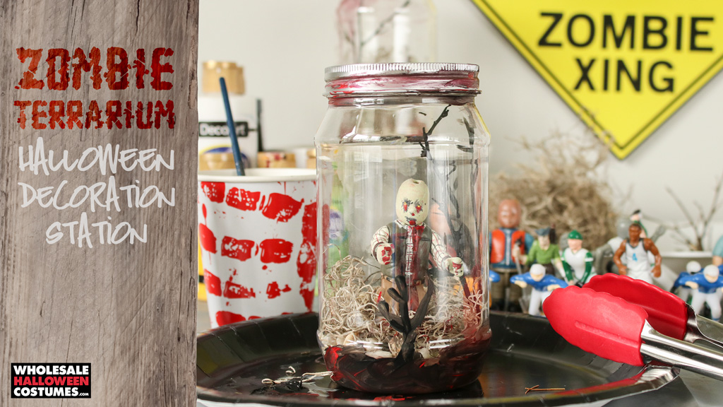 Zombie Terrarium Decoration Making Station