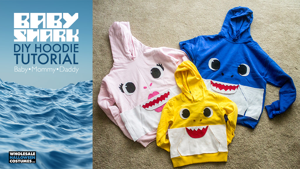 Baby Shark Hoodies