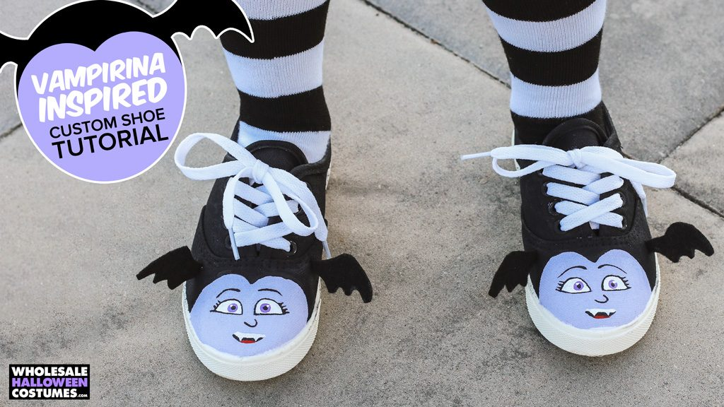 DIY Vampirina Shoes Supplies