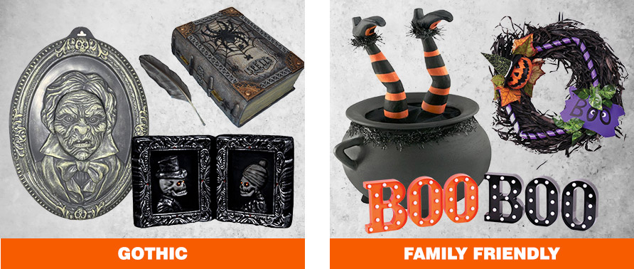 Gothic & Family Friendly Halloween Decorations