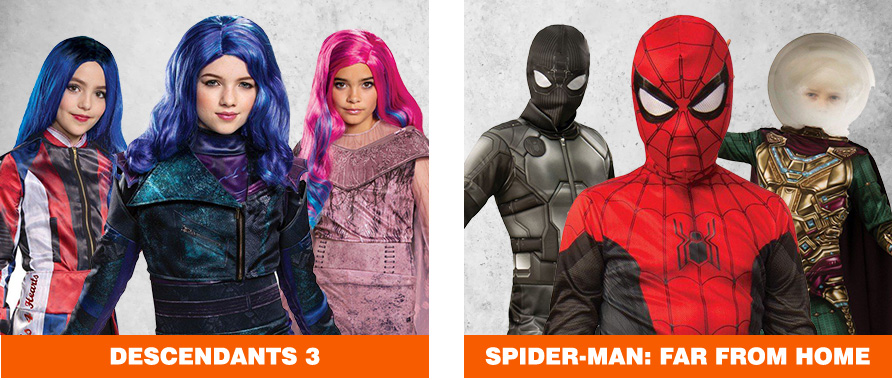 Descendants 3 & Spider-Man Halloween Costumes