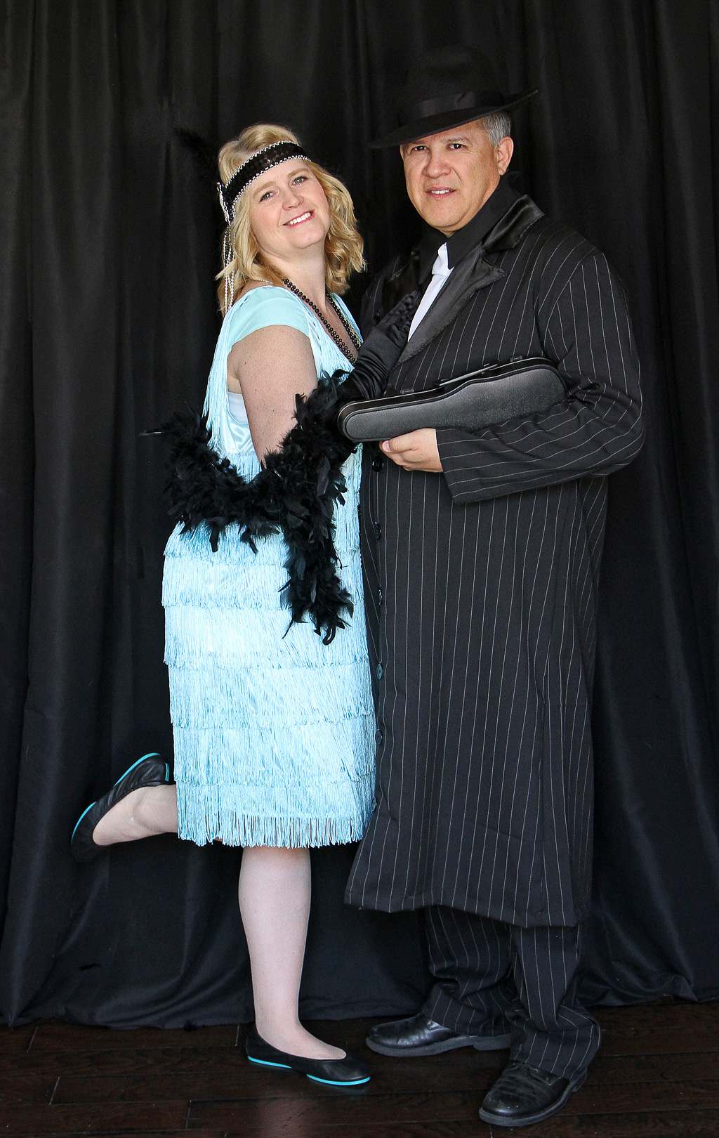 1920s Costume Party - Couples Costumes - Flappers and Gangsters